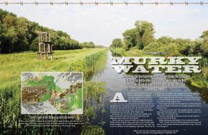 Murky Water magazine layout
